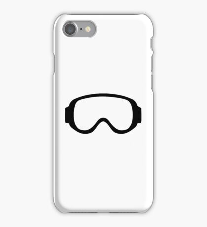Ski snowboard goggles iPhone Case/Skin