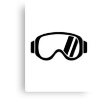 Ski goggles Canvas Print