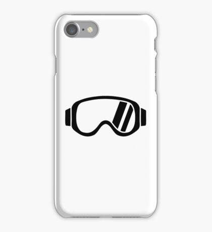 Ski goggles iPhone Case/Skin