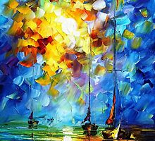 Breeze — Buy Now Link - www.etsy.com/listing/227337840 by Leonid  Afremov