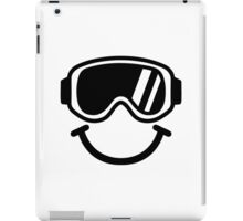 Ski smiley iPad Case/Skin