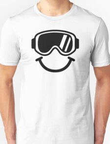 Ski smiley Unisex T-Shirt