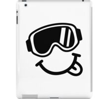 Ski smiley face iPad Case/Skin