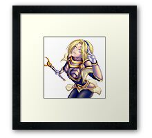 Lux - League of Legends Framed Print