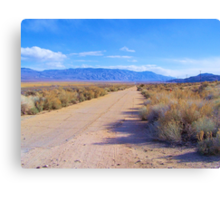 Old Highway 395 Canvas Print