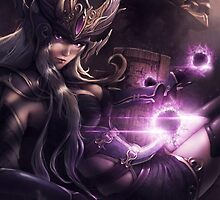 Syndra the Sovereign of Shadow - LoL by MindxCrush