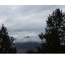 Misty Mountain Hop Photographic Print