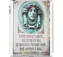 Dear Sweet Leota iPad Case/Skin