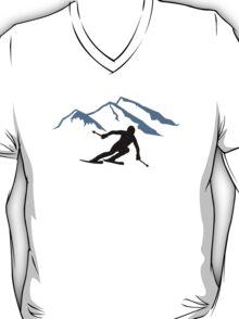 Skiing mountains T-Shirt