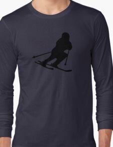 Downhill skiing Long Sleeve T-Shirt