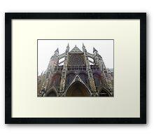 Abbey Facade Framed Print