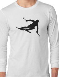 Ski racing Long Sleeve T-Shirt