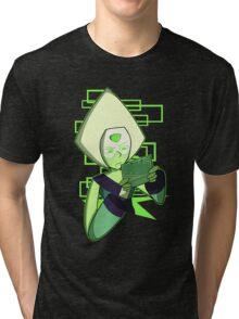 Gamer Dorito (Peridot) Tri-blend T-Shirt