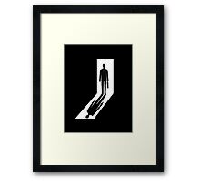 Gman | The Twilight Dimension Framed Print