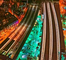 The Railways and The City, London, England by atomov