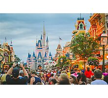 Main Street USA Photographic Print