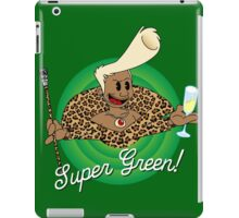Super Green! iPad Case/Skin