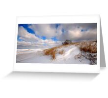 Winter Comes Softly Greeting Card