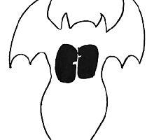 White Fatty Batty by GemmatheB
