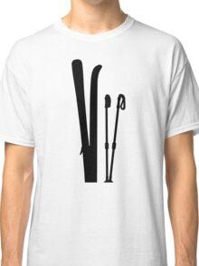 Skiing equipment Classic T-Shirt