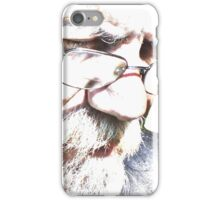 Man of many moods iPhone Case/Skin