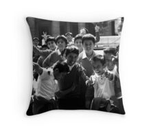 School boys Throw Pillow