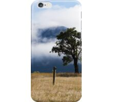 clouds and trees iPhone Case/Skin