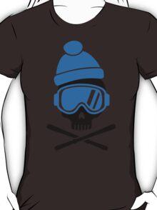 Skiing skull T-Shirt
