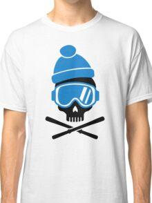 Skiing skull Classic T-Shirt