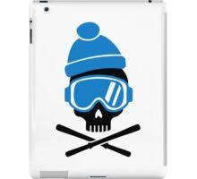 Skiing skull iPad Case/Skin