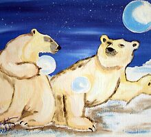 Arctic  Bears by cdcantrell