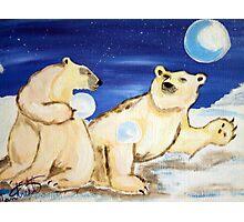 Arctic  Bears Photographic Print