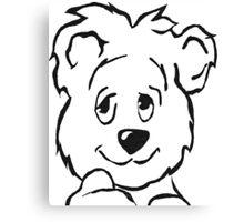 Cutest Bear Ever! Canvas Print