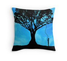 The Wishing Tree Throw Pillow