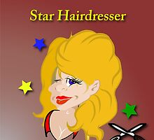 Star Hairdresser by Drawsome