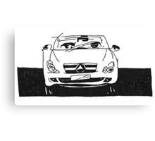 Cars, cars, cars. Canvas Print
