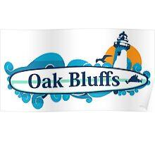 Oak Bluffs - Martha's Vineyard.  Poster