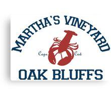 Oak Bluffs - Martha's Vineyard.  Canvas Print