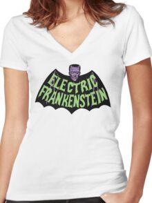 EF BAT Women's Fitted V-Neck T-Shirt