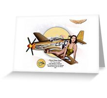 Hurry Home Honey - P-51D Mustang Greeting Card