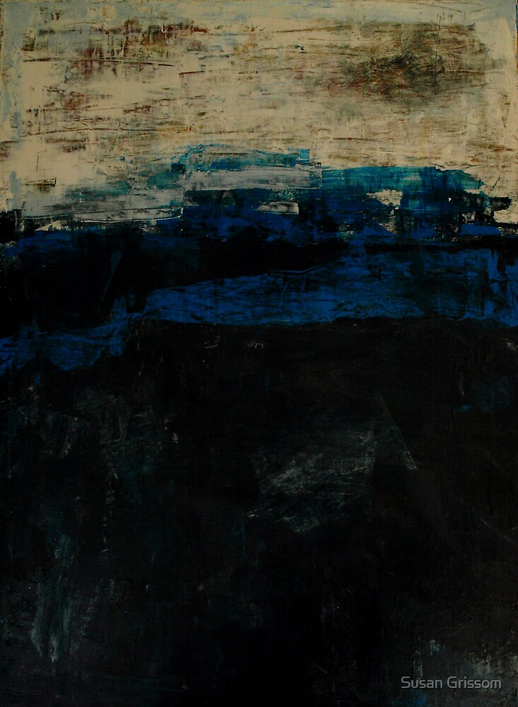 Black and Blue No 21 by Susan Grissom