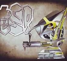 """""""ESP""""....Robo-kids adventures into the realms of """"Ash Sivils"""".... by atomikboy"""