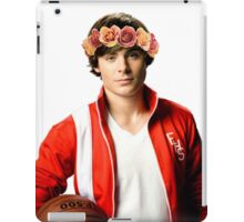 Zac Efron Flower Crown iPad Case/Skin
