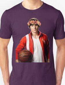 Zac Efron Flower Crown Unisex T-Shirt