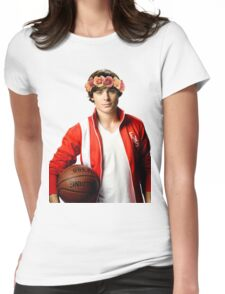 Zac Efron Flower Crown Womens Fitted T-Shirt