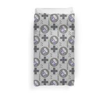Super Nintendo controller - Transparent Shirt Duvet Cover