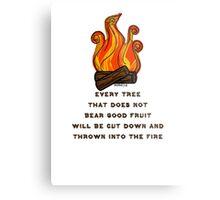 Matthew 7:19 Metal Print