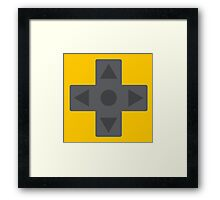 D-Pad Dimension Framed Print