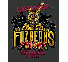 Fazbear's Fright Photographic Print