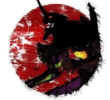 Evangelion - unit 01 - Berserk by NomadSenpai